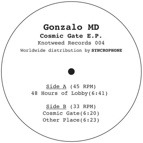 KW 004 - Gonzalo MD - Cosmic Gate E.P.