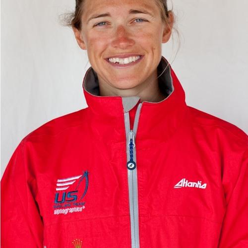Farrah Hall talks about her first medal race