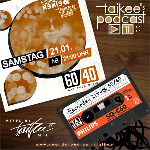 TP#10 - Recorded live @ Bar 60/40 ( Deep & Nu Disco )