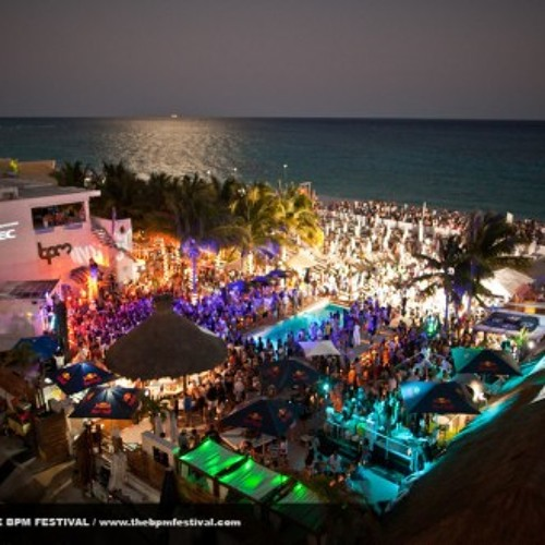 DJ Santash-The BPM Festival, Playa del Carmen, Mexico (PREVIEW) Session Coming Soon