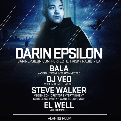 Darin Epsilon - Live @ Spin Nightclub in San Diego [Jan 27 2012]