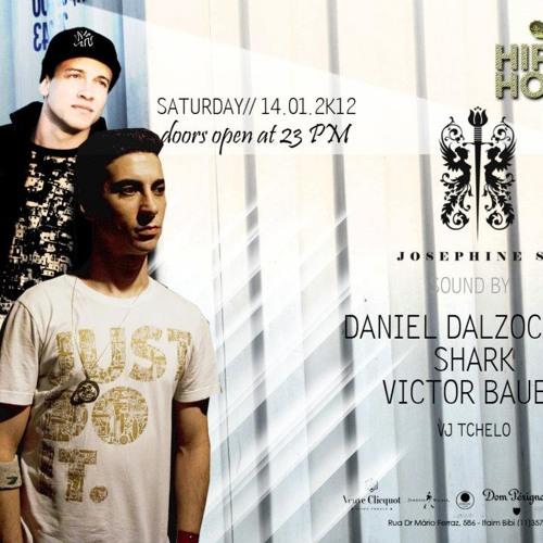 DJ Daniel Dalzochio live @ Josephine SP - 14.01.2012 pt2  (peaktime)