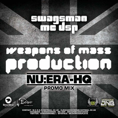 Dj Swagsman & MC D.S.P - Weapons Of Mass Production