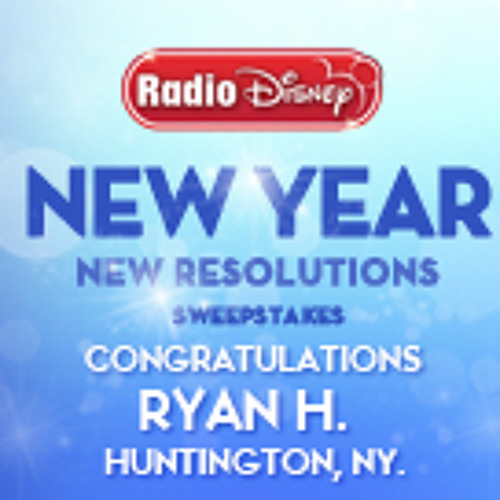 NEW YEAR, NEW RESOLUTIONS Sweepstakes Winner by R3D3 ...