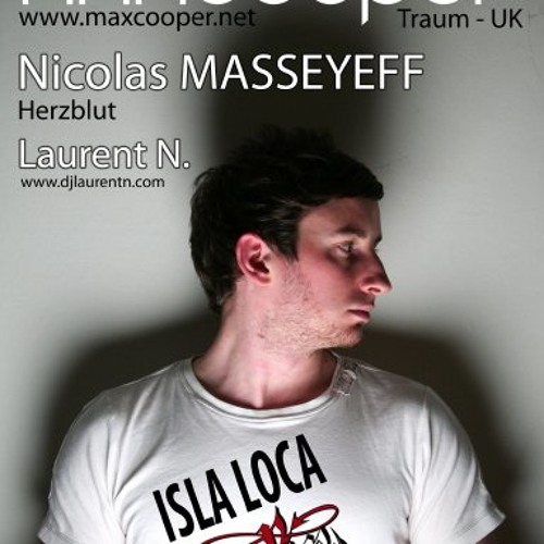 LAURENT N. LIVE DJ MIX with Max Cooper & N. Masseyeff @ L'ANFER (27-01-2012)