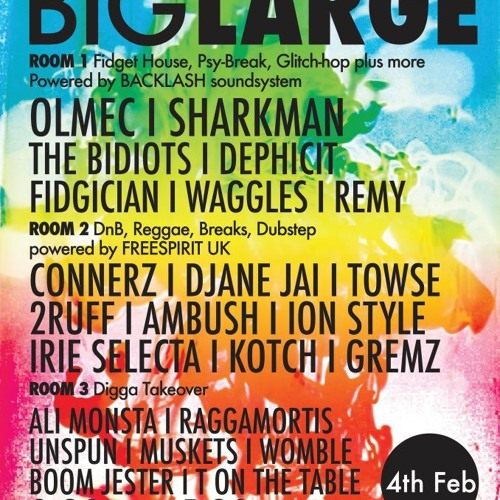 GET READY FOR BIG LARGE!!!