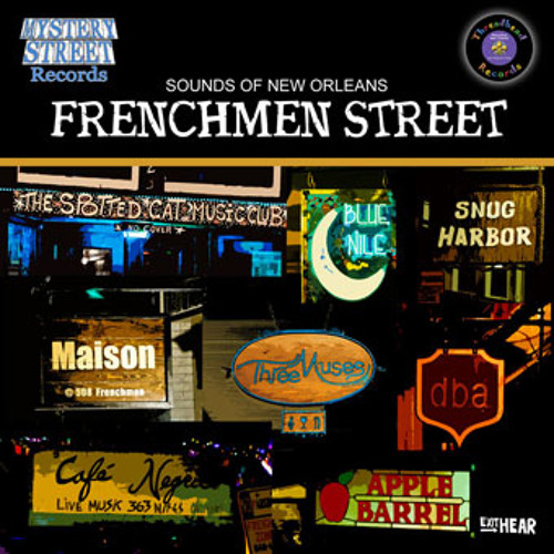 Some Funky Tunes Recorded from a Jazz Bar in New Orleans
