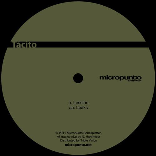 Tácito - Lession (out on Micropunto Schallplatten)