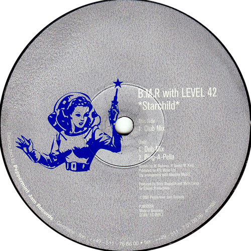 B.M.R with Level 42 - Starchild (Club Mix)