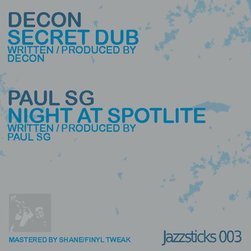 Paul SG - Night At Spotlite [JAZ003]