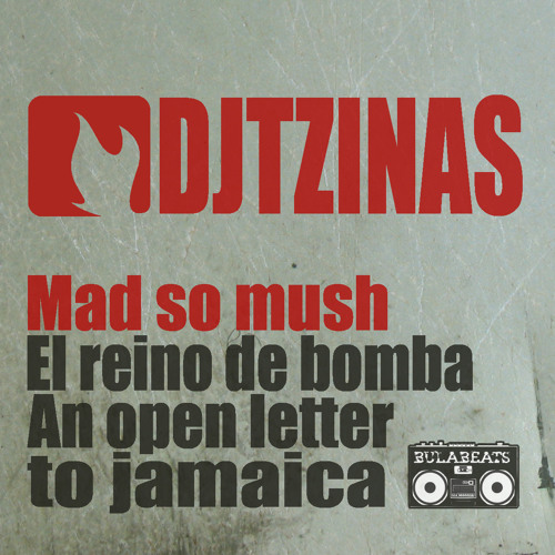 Dj Tzinas _ Mad So Mush Ep_Sampler_bb0039_Out_March _10th
