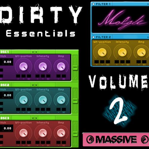 Molgli's Dirty Essentials Vol 2 - NI Massive Soundset - OUT NOW! £15