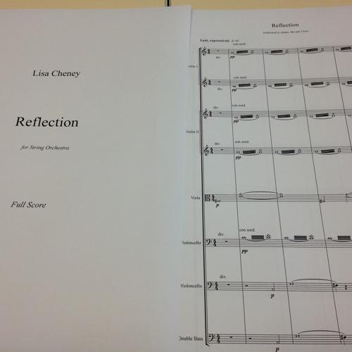 Reflection (short version: string orchestra)