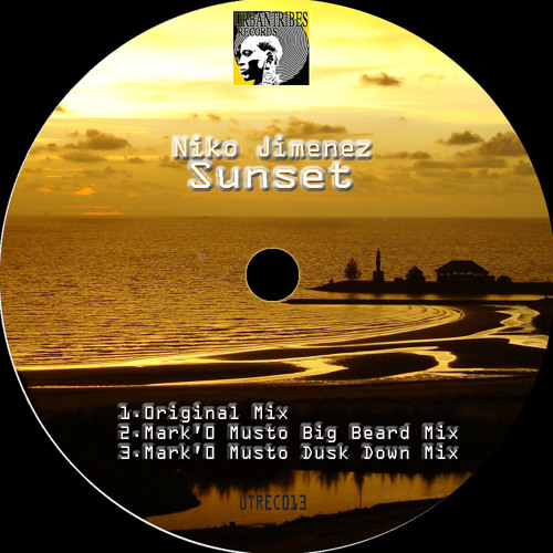 Niko Jimenez -  Sunset (Mark'O Musto Big Beard Mix) [Urbantribes Records]