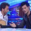 Taylor Lautner Singing Lobo Hombre en Paris