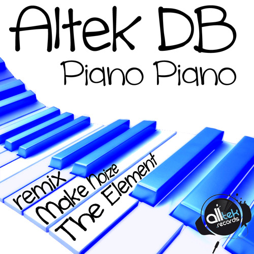 Piano piano (Original Mix) ... Dispo on Beatport NOW
