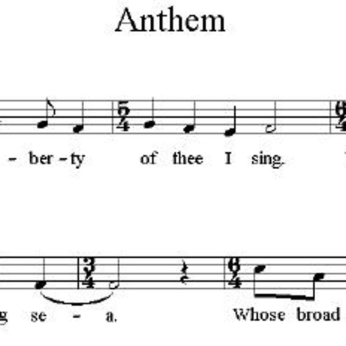 "attempting ""Anthem"""