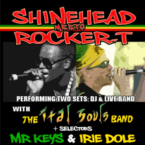Golden Touch Medley feat. Shinehead & Ital Souls LIVE at the Rock-it Room in SF