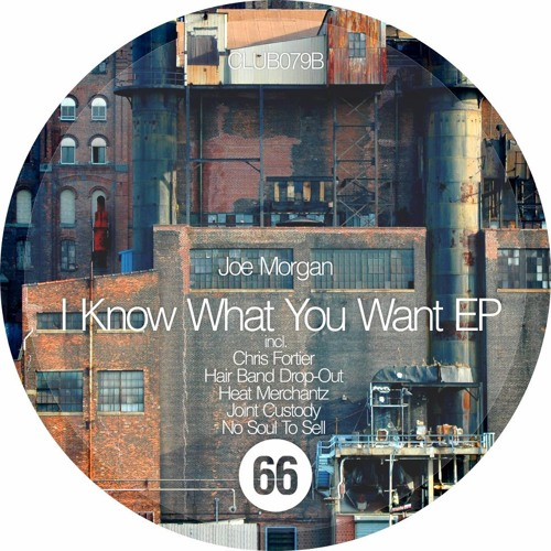 Joe Morgan - I Know What You Want (No Soul To Sell Remix) RELEASED on Club 66 Records