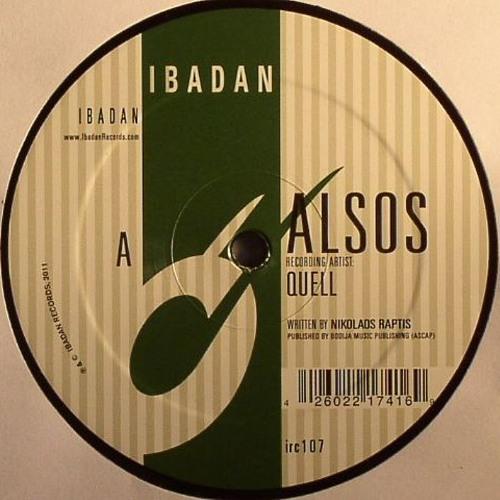 QUELL - ALSOS EP (IBADAN RECORDS)