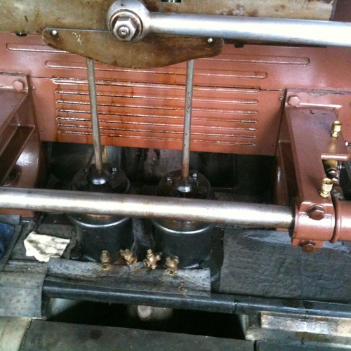 One Cylinder Mill Engine, Dashpots