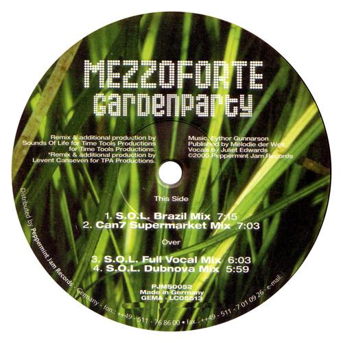 Mezzoforte – Gardenparty (Can 7 Supermarket Mix)