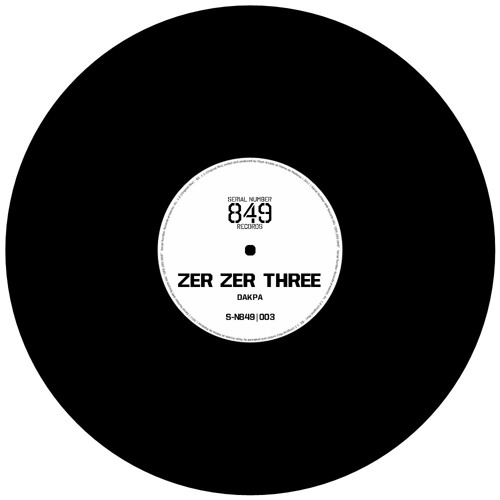 Dakpa - Zer Zer Three (SN849R003)