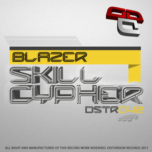 Blazer - Skill Cypher (Original Mix) [DSTR042]