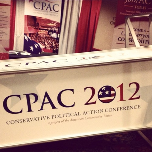 Live at #CPAC