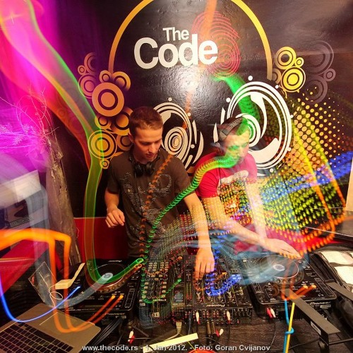 Nikola Majdanovic b2b Minimalistic Live @ The Code 1.1.2012.