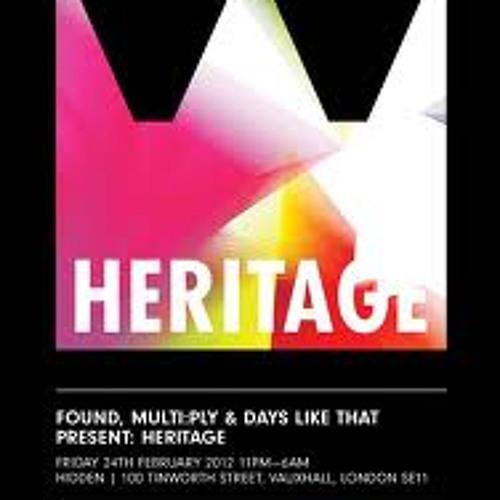 Nico Lupo's I've Found my Heritage Multiplied Mix