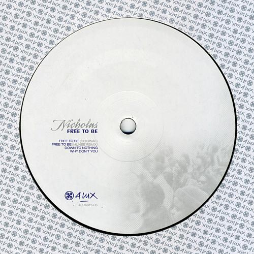 "4LUX01105 - Nicholas - ""Freet To Be"" (Original Mix)"