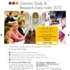 German Study & Research Expo India 2012 Chennai