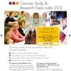 German Study & Research Expo India 2012 New Delhi