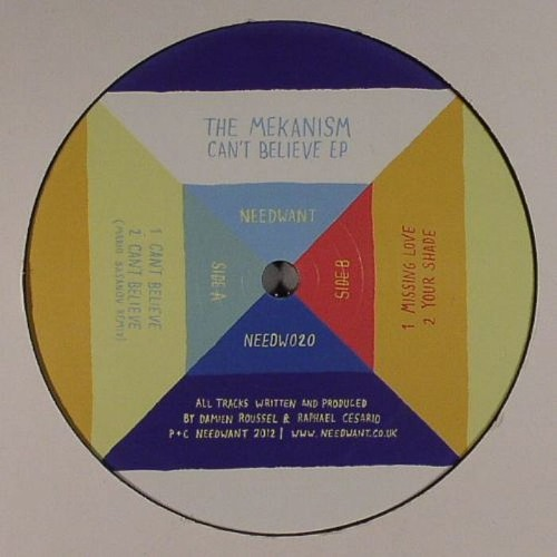 The Mekanism - Can't Believe (Mario Basanov Remix) 12''
