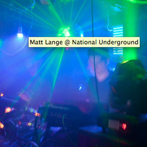 Matt Lange Live In NYC