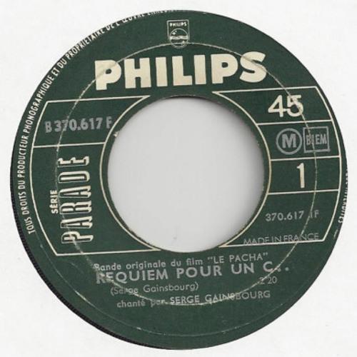 Serge Gainsbourg - Psychastenie (Miles' Drum Edit) (1967)
