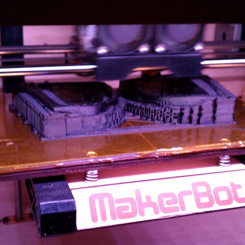 NYFW Fall 2012: Asher Levine's MakerBot Replicator Music