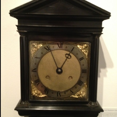 Early pendulum clock by Ahasuerus Fromanteel