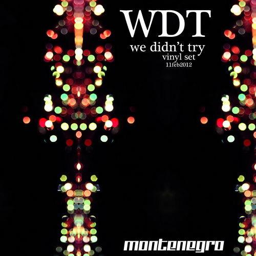 Montenegro - We Didn't Try (Vinyl Set 11 Febrero 2012)