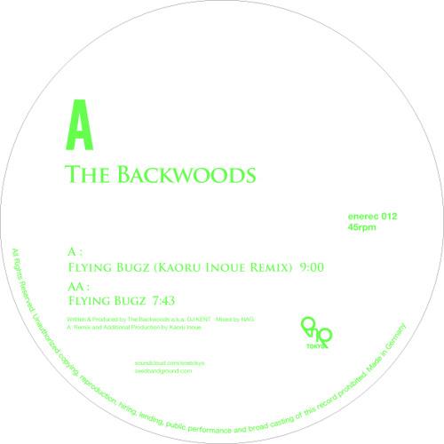"""enerec012 THE BACKWOODS """"Flying Bugz Remix EP"""""""