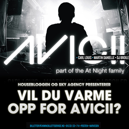 Housebloggen.no: Avicii Warm Up Competition - DJ KentH