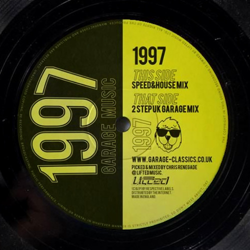1997 garage classics speed house mix by chris renegade for House music 1997
