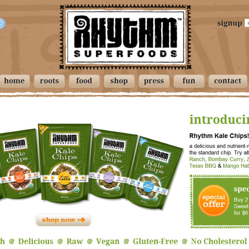 Keith Wahrer from Rhythm Superfoods talks raw vegan superfoods, kale chips and more