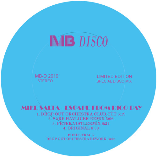 Mike Salta-Escape From Rico Bay (Sare Havlicek Remix) - 96kbps