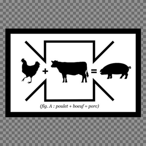 Poulet + Boeuf = Porc