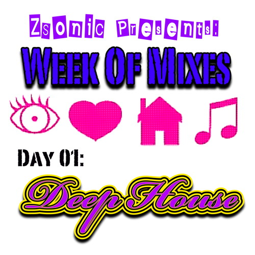 "ZSonic - ""A Song For Lovers"" Week Of Mixes Day 1: Deep House %100 Vinyl"