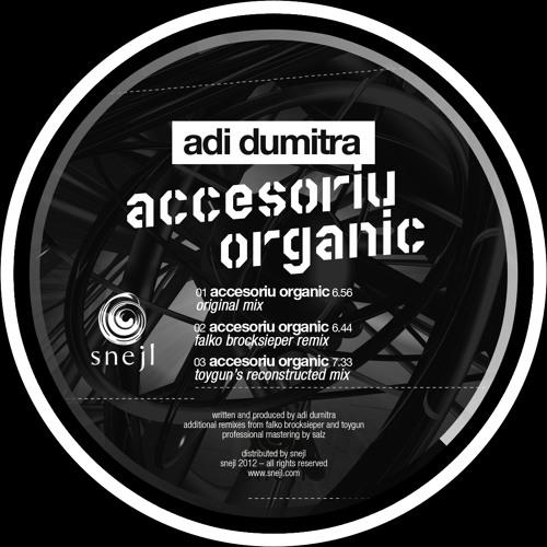 Adi Dumitra - Accesoriu Organic (Falko Brocksieper Remix)