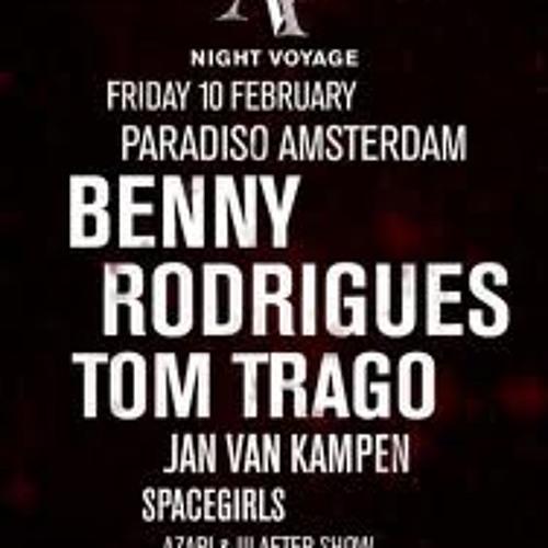 Benny Rodrigues @ Night Voyage, Paradiso, Amsterdam (10-2-2012)