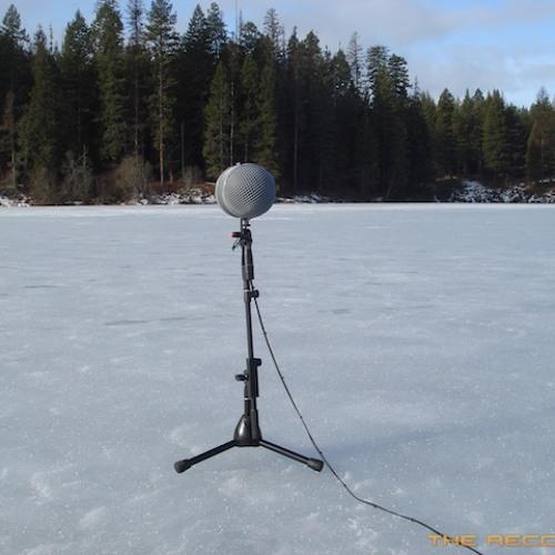Insane Lake Ice Cracks
